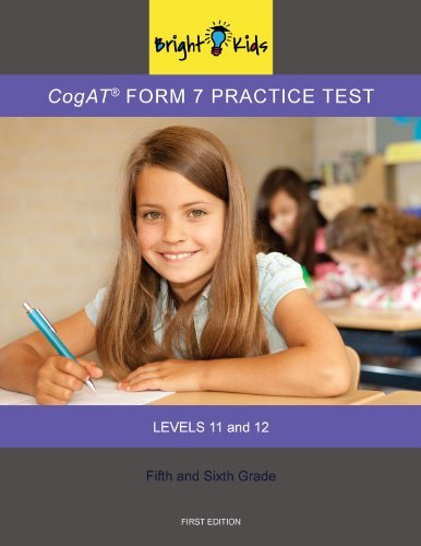2012-0059 CogAT Practice Test for Levels 11 And 12 (Form 7)