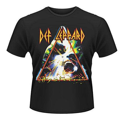 Def Leppard Hysteria Rock Heavy Metal ufficiale Uomo maglietta unisex (Small)