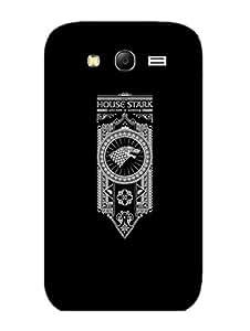 Samsung Grand 3 Back Cover - Game Of Thrones - House Stark - Designer Printed Hard Shell Case