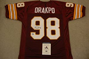 BRIAN ORAKPO SIGNED AUTO WASHINGTON REDSKINS JERSEY AAA AUTOGRAPHED by Sports Memorabilia