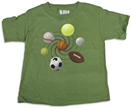 Mis Tee V-Us - Big Boys Short Sleeve Sports T-Shirt