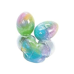 Iridescent Glitter Putty Eggs (1 dz)
