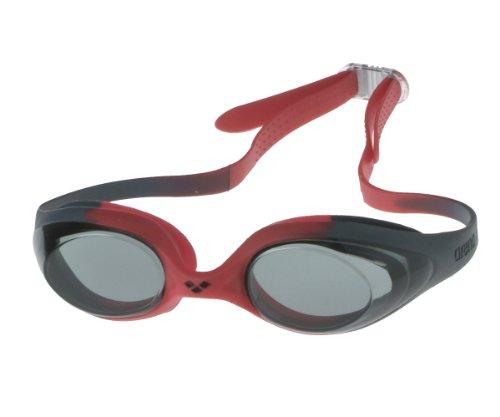- Lunettes de natation enfant 'Spider jr' - Gris/rouge