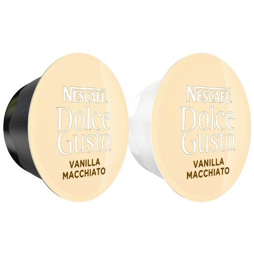 80 X Nescafé Dolce Gusto Latte Macchiato Vanilla, 80 Capsules (40 Servings) front-418901