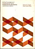 On The Foundations of Combinatorial Theory: Combinatorial Geometries (0262530163) by Crapo, Henry H.