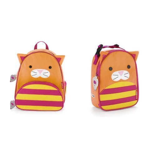 Skip Hop Zoo Backpack and Lunchie Set, Cat - 1