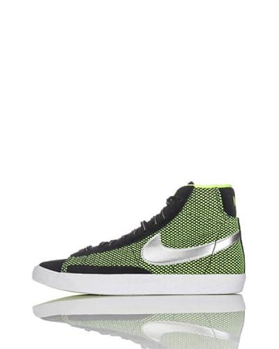 Nike Sneakers Blazer Mid Vintage Le (Gs) [Nero/Fluo]