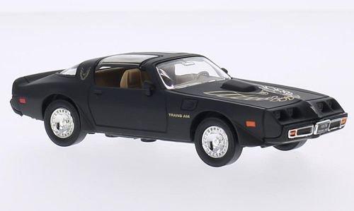 pontiac-firebird-trans-am-matt-black-decorated-1979-model-car-ready-made-lucky-the-cast-143