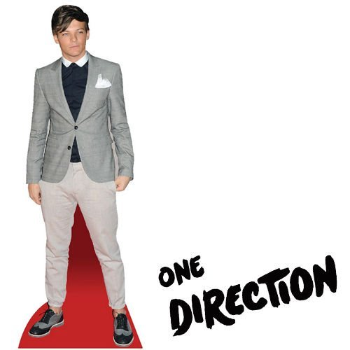 Celebrity One Direction Table Standee Desktop Standup Cutout Cardboard Masks 1d LOUIS TOMLINSON by Guilty Gadgets Ã'Â (One Direction Stand Up Cardboard compare prices)