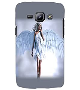 SAMSUNG GALAXY J1 ANGEL GIRL Back Cover by PRINTSWAG