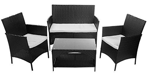 Outdoor Garden Furniture Set Piece Patio Pe Rattan Cushioned
