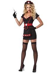 Sexy Nurse with Black Costume