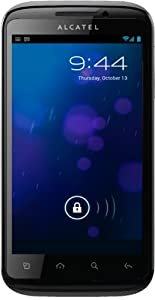 Alcatel One Touch 993D Dual SIM, Display 4 Pollici, Wi-Fi, Nero
