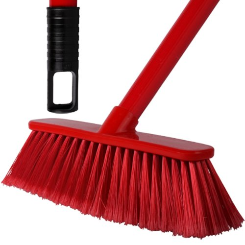 2-pack-of-28cm-red-soft-deluxe-floor-sweeping-brush-brooms-with-120cm-handle-comes-with-tch-anti-bac