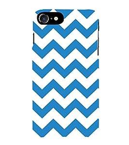 HiFi Designer Phone Back Case Cover Apple iPhone 7 :: Apple iPhone7 ( Blue White Background )