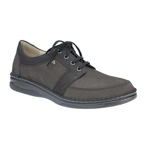 FINN COMFORT 1111 uomo Derby laccio semi scarpe., Nero (nero), 42 eu
