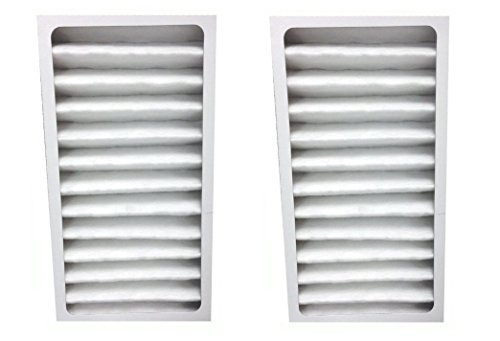 2 pack HEPA Filter fits Hunter 30963 for Air Purifier 30710, 30711, 30715, 30716, 30717 & 30730 by LifeSupplyUSA