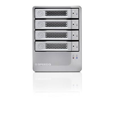 G-Technology G-SPEED Q High-Performance 4-Bay RAID Storage Solution 16TB (USB3.0/eSATA/FireWire 800) (0G02840)