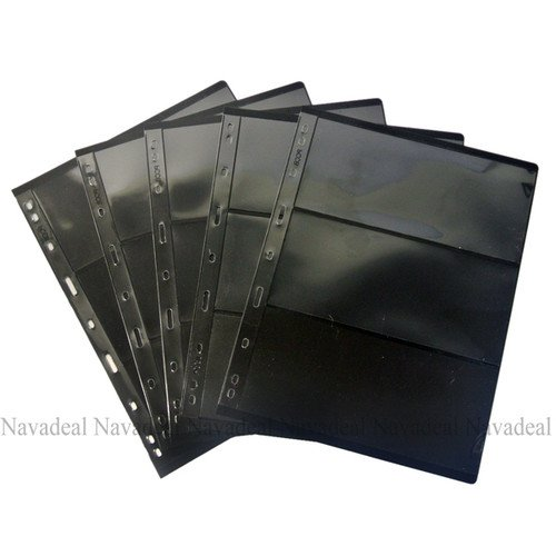 nava-5pcs-3-pocket-double-side-currency-paper-note-stamp-protector-insert-page-sheets
