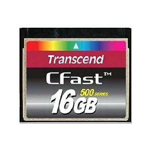 Transcend Compact Flash (CF) 16GB Speicherkarte Cfast