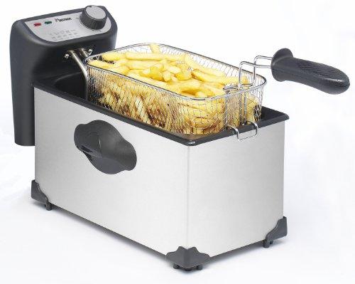 Bestron AF351 Funcooking Friteuse Inox 3,5 L pour 1 Kg Frites