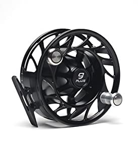 Hatch 9 Plus Finatic Fly Fishing Reel Black/Silver by Hatch Outdoors