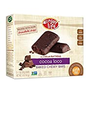 Enjoy Life Baked Chewy 1 Ounce Bars, Cocoa Loco, 5 Count (Pack of 6)