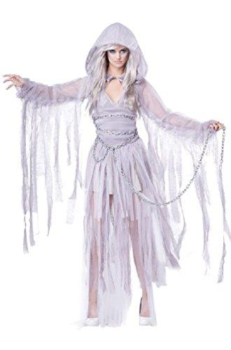 8eighteen Haunting Beauty Ghost Spirit Adult Women Costume (Haunting Beauty)
