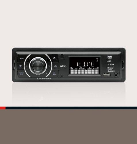 Autoradio mit USB und Card Reader (LCD-Display, SD und MMC, AUX-IN, Equilizer) online kaufen