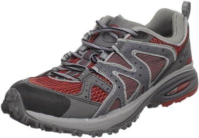 Oboz Women's Flash Trail Running Shoe,Red,6 M US