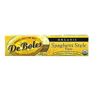 DeBoles Organic Jerusalem Artichoke Spaghetti Style Pasta -- 8 oz