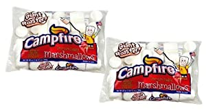 Campfire, Premium Extra Large 2 Inch Marshmallows, 28oz Bag (Pack of 2)