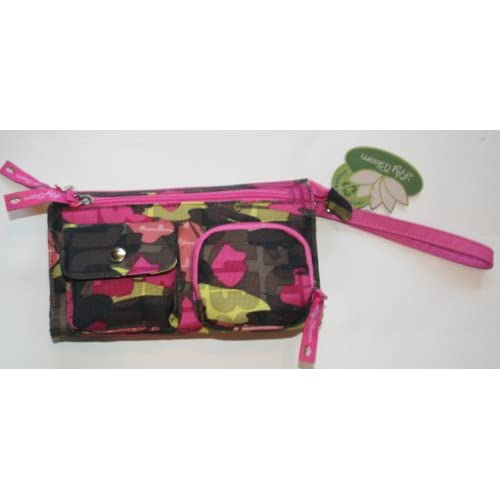 Lily Bloom Recycled Fashion Multi-Pocket Wristlet - Multi-Color