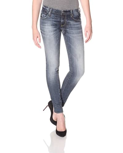 Driftwood Women's Skinny Destroyed Jean