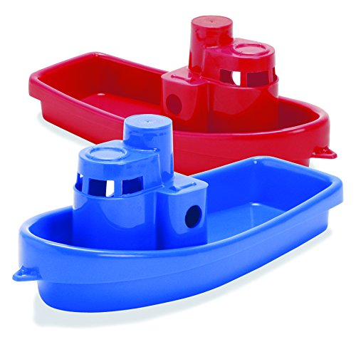 Dantoy Stacking Tug Boat Color: Red - 1