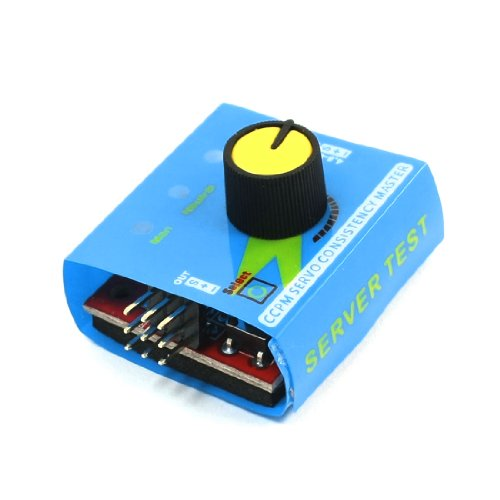 4.8-6V 3 Mode Speed Controller Servo Server Tester For Ccpm Helicopter