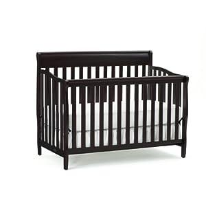 Graco - Stanton 4-in-1 Convertible Crib, Espresso