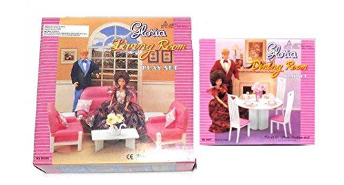 Gloria:Barbie Doll House Furniture -(Set of 3)- Living Room ...