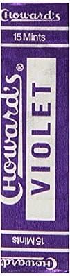 C. Howard Violet Candies, 0.88-Ounce…