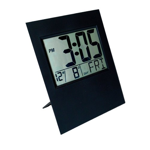 Hanslin Large Digital Readout Wall Clock