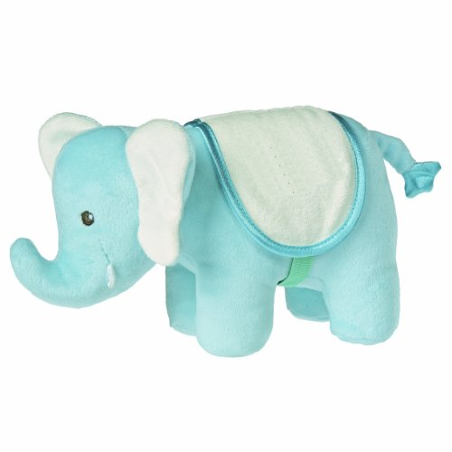 "Mary Meyer Big Top Elephant, 9"" Blue front-909785"