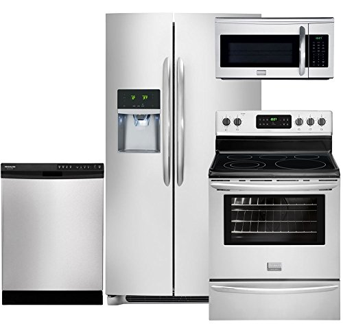 Frigidaire Gallery 4-Piece Smudge-Proof Stainless Steel Kitchen Package with FGHC2331PF 36