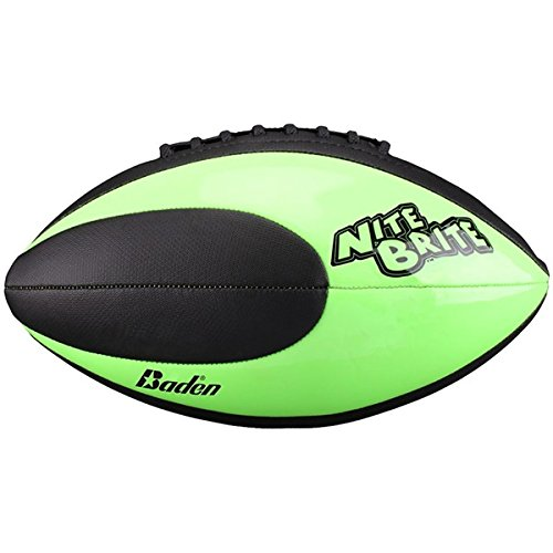 Nite Brite Durable And All Weather Glow-in-the-Dark Football, BF65RG (Nite Brite Football compare prices)