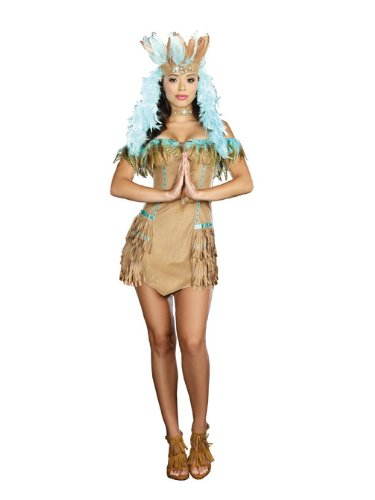 Dreamgirl Rain Dance Diva Costume
