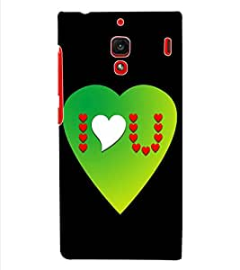 ColourCraft Love Quotes Back Case Cover for XIAOMI REDMI 1S