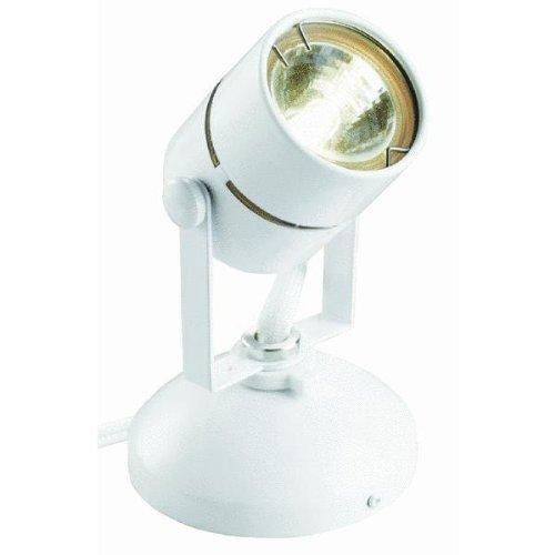 Good Earth Lighting Micro Halogen Spotlight, White (Good Earth Lighting Bulb compare prices)