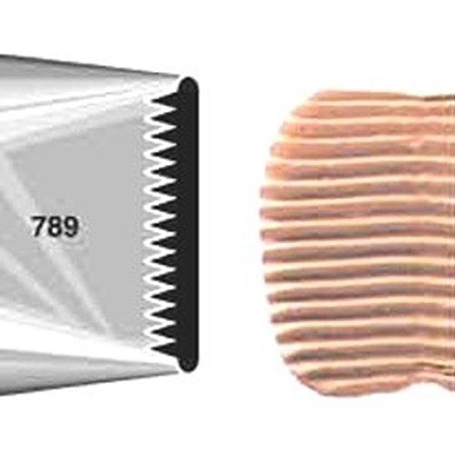 # 789 Metal Cake Icer Tip (Color: Silver, Tamaño: 789)