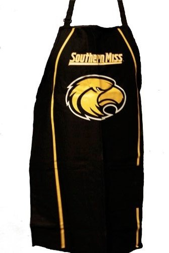 Grill Topper Southern Missippi Golden Eagles BBQ Apron