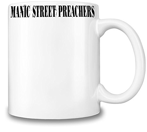 Manic Street Preachers Black Logo Tazza Coffee Mug Ceramic Coffee Tea Beverage Kitchen Mugs By Genuine Fan Merchandise