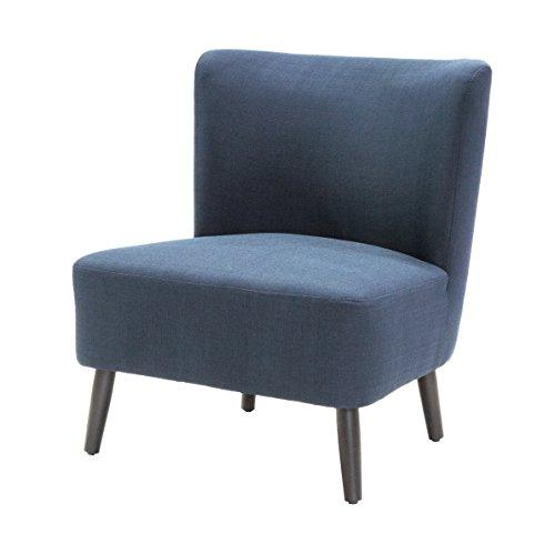 Tenzo 9460-264 Tequila Designer Sessel, Sitzfläche mit Stoffbezug, 80 x 65 x 70 cm, marineblau thumbnail